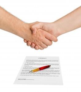 Assessment contract handshake