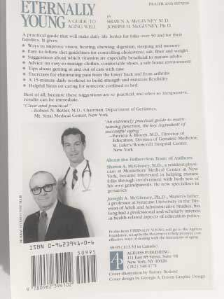 Eternally Young back cover